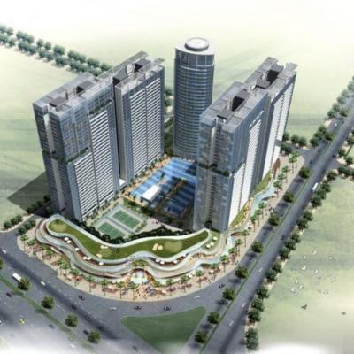 Dự án Golden Gate trung tâm thương mại Nguyễn Hữu Thọ, quận 7, DT 29.764,9m2